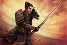 Best Asian, Samurai, Ninja & Martial Artists / Only the Best Asian Warriors.