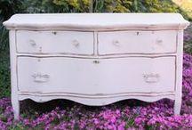 Sweet, Pink Dressers. For Jen.