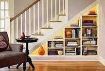 Understair storage / Storage solutions for stair areas