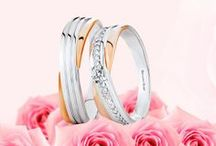 Brilliant Rose Wedding Bands / Never again will there be two rings as precious as these – symbols of commitment binding two hearts to each other. Embark on an extraordinary love journey with the finest Brilliant Rose wedding bands.