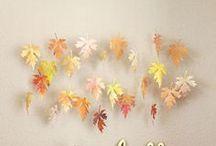 Fall Decor, Indoors