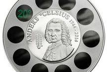 ANDERS CELSIUS THERMOMETER / Numizmatika
