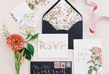 Stunning Stationary / A million ways to invite the ones you love. Pick a look for your special day.