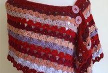 Hat, scarf & poncho