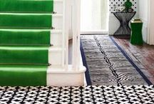 Stair Runner Ideas / The newest Stair runner decorating trends