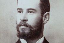 Vintage Men & Beards