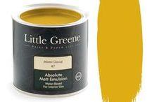 Little Greene Mister David 47 / Примеры использования оттенков палитры Little Greene в интерьереах