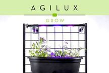 Grow. / Indoor gardening made easy and accessible.  Reduced energy cost, increased PAR level productivity, faster harvest time, and lower maintenance costs are important benefits to any grower of any size. Agilux Grow Lights were designed to do all these things at an affordable cost.