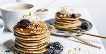 Fuss-Free Weekend Brunch / Sunday brunch comes together in a flash with these quick (but indulgent) recipes.