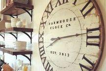Decorating with Farmhouse Clocks