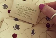 Harry Potter Wedding ideas / Harry Potter beroende? Nejdå