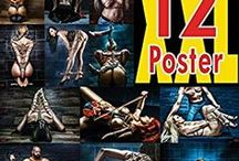 Poster Set 01 - Fine Art of Bondage / 12 awesome poster prints about rope bondage, bdsm/fetish - available at amazon worldwide… Perfect to stick on your wall or put it in a bigger frame to got more exposure for it! Available at amazon worldwide - http://Fine-Art-of-Bondage.com