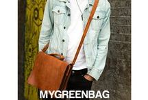 My Green Bag for Men / Let's have a look  at our new models for men,   Like it! Pin it! Spread the word!  :)