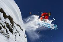 Skiing  / Skiing is a dance, and the mountain always leads.
