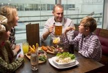 Bar Varia / Bar Varia is a family friendly, Independent, Bavarian themed Restaurant and Bier Halle. Created by award winning designers and boasting panoramic views of Scotlands only indoor, real snow ski slope; #BarVaria is a unique destination. http://www.snowfactor.com/barvaria/
