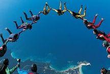 Bungee jumping/Base jumping