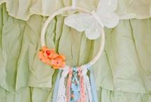 Whimsical room decor / beautiful pieces for child's room