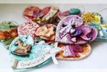 My works - Salt Dough Hearts / Salt Dough Hearts