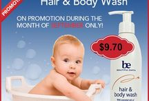 Beautiful Earth USA / Baby Care, Certified Natural.