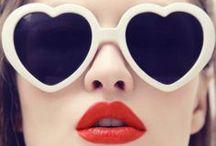 / sunglasses / / Novelty sunglasses to make you feel like Dolores Haze.