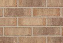 Brick by Color: Buff / Glen-Gery brick in shades of Buff and Beige.