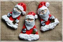 My works - Salt Dough Christmas