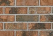 Brick by Color: Orange / Glen-Gery brick come in a variety of appealing colors. This board is filled with brick in the orangefamily of colors!