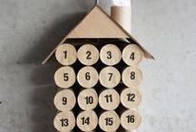 Advent calendar / Super leuke DIY ideetjes voor advent - aftellen naar kerstmis