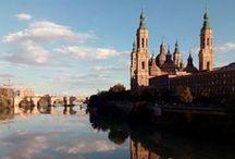 Iglesias de Zaragoza / El Pilar, La Seo, La Magdalena y otras iglesias de Zaragoza