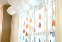 """baby shower // sprinkle theme / A """"Sprinkle is in the Forecast"""" Baby Shower Theme"""