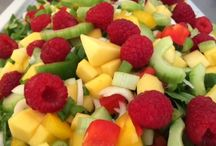 Salater, frugt og grønt