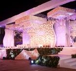 Indian Wedding Stages & Backdrops