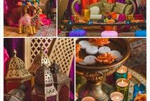 Moroccan Arabian Theme Decor & Ideas / A few images done by us and ideas that we can incorporate into an Arabic Moroccan Theme Party