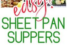 HEALTHY TRAY BAKE MEALS / Super Simple Tray Bake Recipes that not only are delicious but nutritious and easy to make.