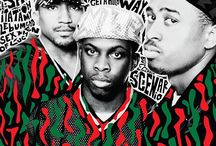 ATCQ Project / Mood Boards for cover design