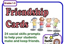 social skills  / worksheets, activity ideas for teaching and targeting social skills