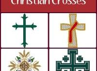 Christian Crosses Embroidery Designs / Machine embroidery designs of the Christian Cross. On this board you'll find contemporary, vintage, classic and rare embroidery designs of the Cross, all manually digitized for professional results. Embroider with the confidence that you will create beautiful and stunning church and religious embroideries. See them all: https://www.windstarembroidery.com/Results.cfm?secondary=244