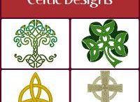 Celtic Embroidery Designs / Celtic machine embroidery designs. For all those of Celtic heritage, be ye Irish, Scots, Manx, Welsh or Breton, these Celtic embroidery designs are a way of showing pride in the heritage and style of being a Celt. Here you'll find distinctive Celtic crosses, Celtic knots, Celtic shapes and Celtic symbols. Enjoy! Visit us for more Celtic embroidery designs all available for Instant Download. See all of our Celtic designs: https://www.windstarembroidery.com/Celtic_Embroidery_Designs.cfm