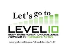 Let's go to  Level 10 / Trasforma il tuo corpo in 90 giorni! Raggiungi i tuoi obiettivi con uno stile di vita sano e attivo!