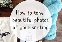 Knitting Business | Photos / Photography tips and how to for taking pictures from your knitted products