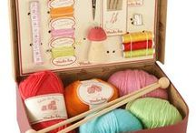 Knitting | Organizing / Ideas about how to organize all the knitting stuff you have