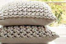 Knitting   T-shirt Yarn / T-shirt yarn projects, ideas and inspiration