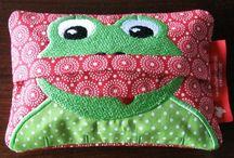 Frosch-gebastelt -genäht