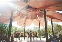 Leaf Pavilion Wedding Ceremonies / Wedding ceremonies at Laumeier Sculpture Park