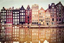 Hoi! Amsterdam Restaurants / Die Grachten von Amsterdam zeichnen das gesamte Stadtbild und machen die gesamte Stadt zu einer einzigen Sehenswürdigkeit ❤ #Amsterdam
