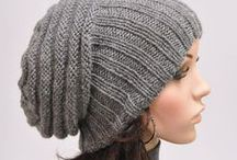 Knitting patterns | Hats / Collection of knitting patterns for hats and headbands. Whether it is a slouchy beanie, fair isle, chunky or cable, for baby, women or men...