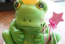 Frosch-Torten