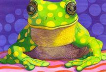 Frosch-Portrait