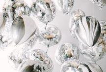 - WEDDING ARGENTÉ- / Mariage wedding normandie love glitter sliver grey
