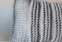 Knitting patterns | Home / Knitting patterns and projects for home and garden - knitting for kitchen, pillows, blankets, carpets and so on...